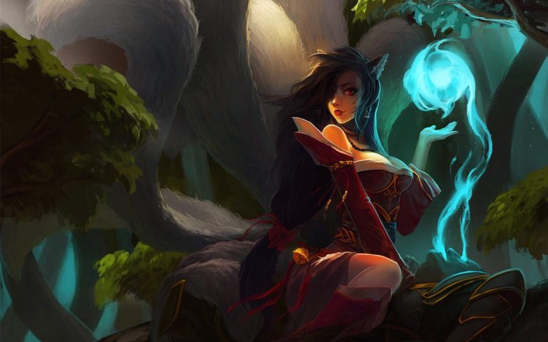 ahri wallpaper 152