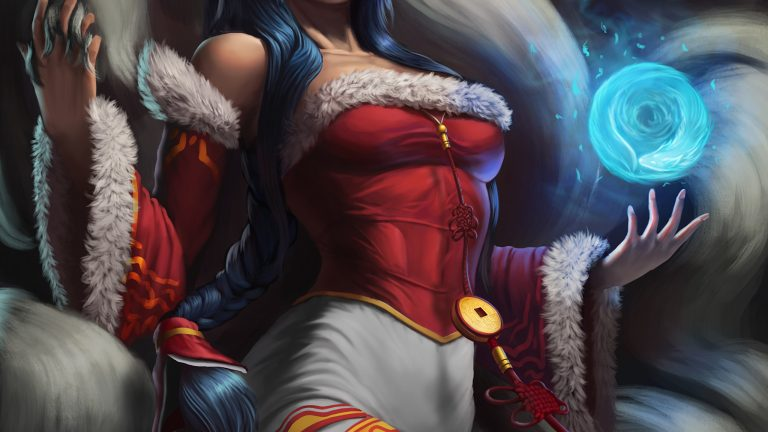 ahri wallpaper 154