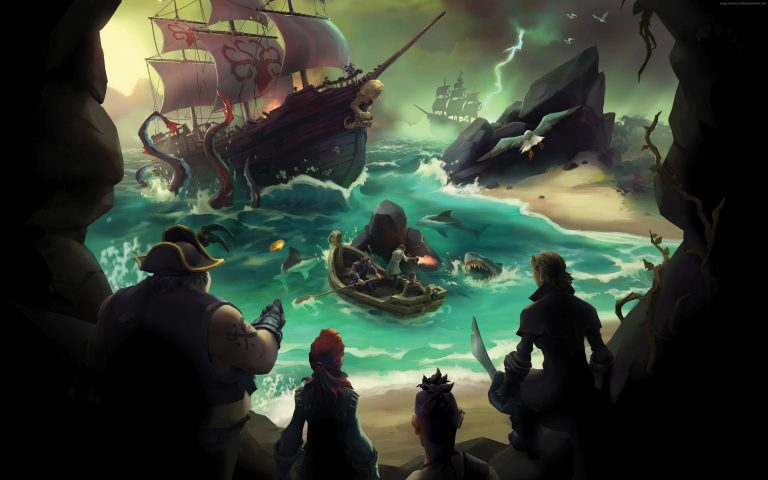 sea of thieves wallpaper 136