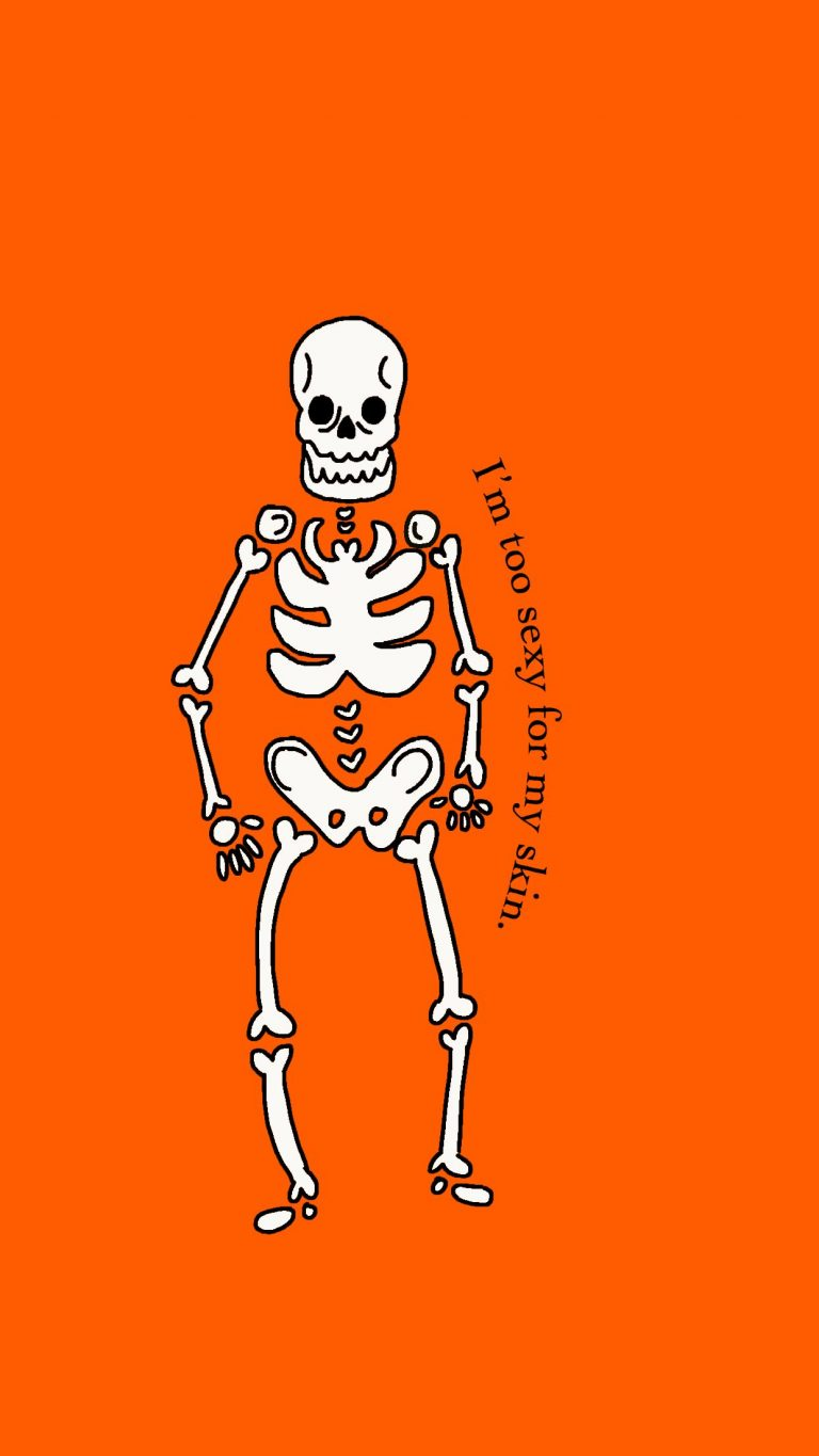 skeleton wallpaper 11