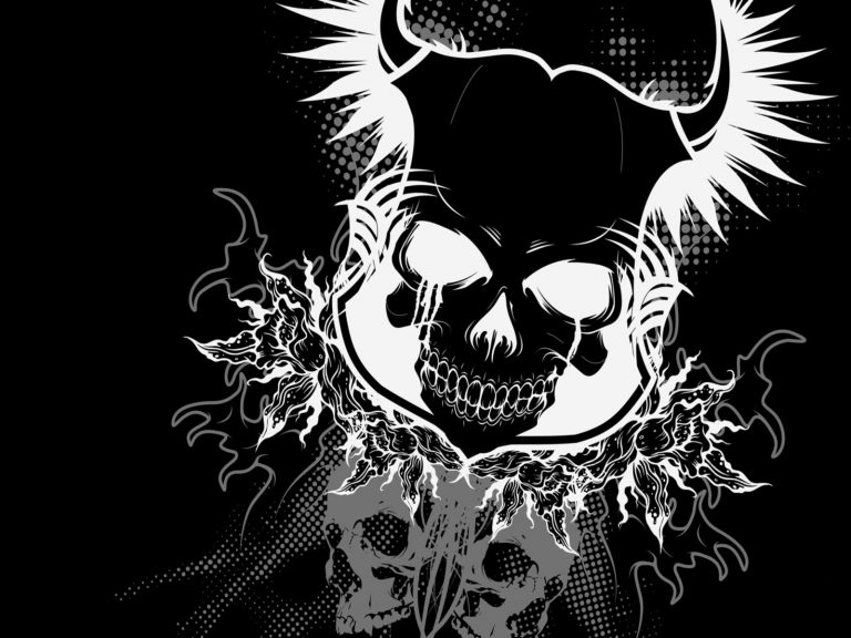 skeleton wallpaper 36