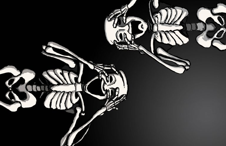 skeleton wallpaper 51