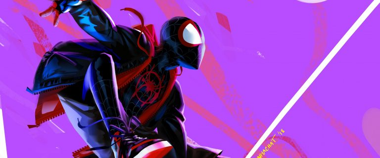 spider verse wallpaper 133