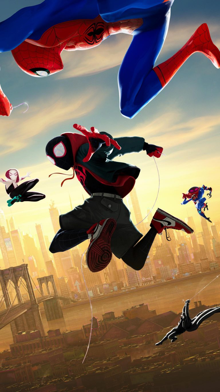 spider verse wallpaper 138