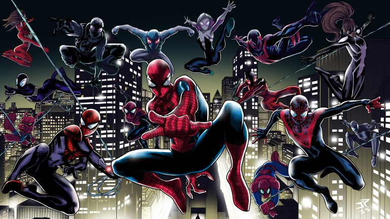 spider verse wallpaper 152