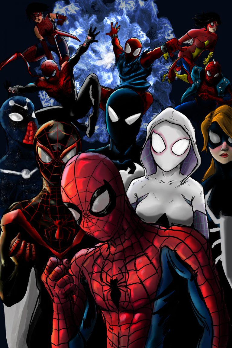 spider verse wallpaper 157