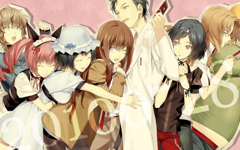 steins gate wallpaper 136