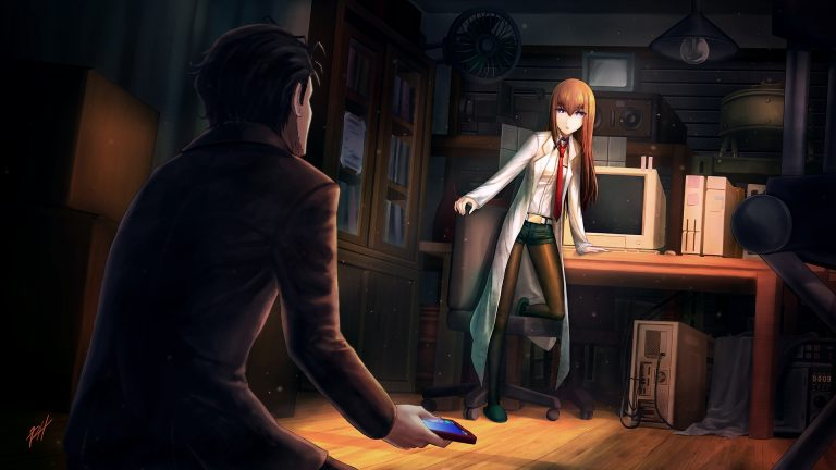 steins gate wallpaper 154