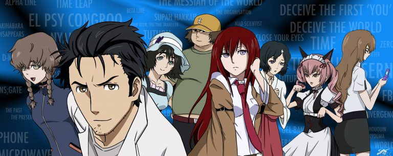 steins gate wallpaper 179