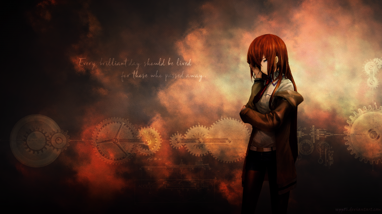 steins gate wallpaper 195