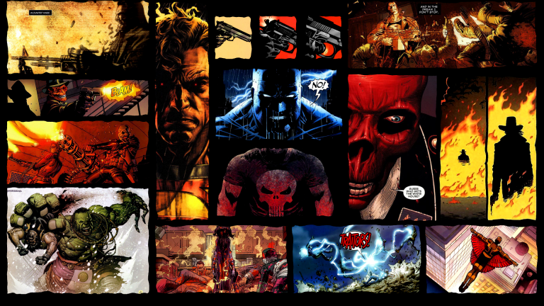 comic book wallpaper 110