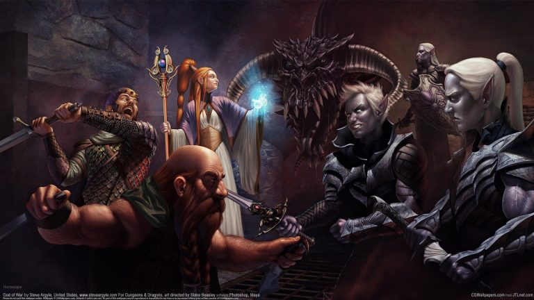 dungeons and dragons wallpaper 192