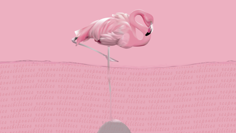 flamingo wallpaper 3