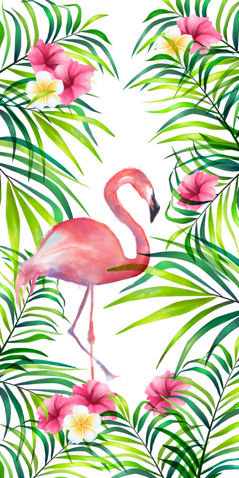 flamingo wallpaper 14