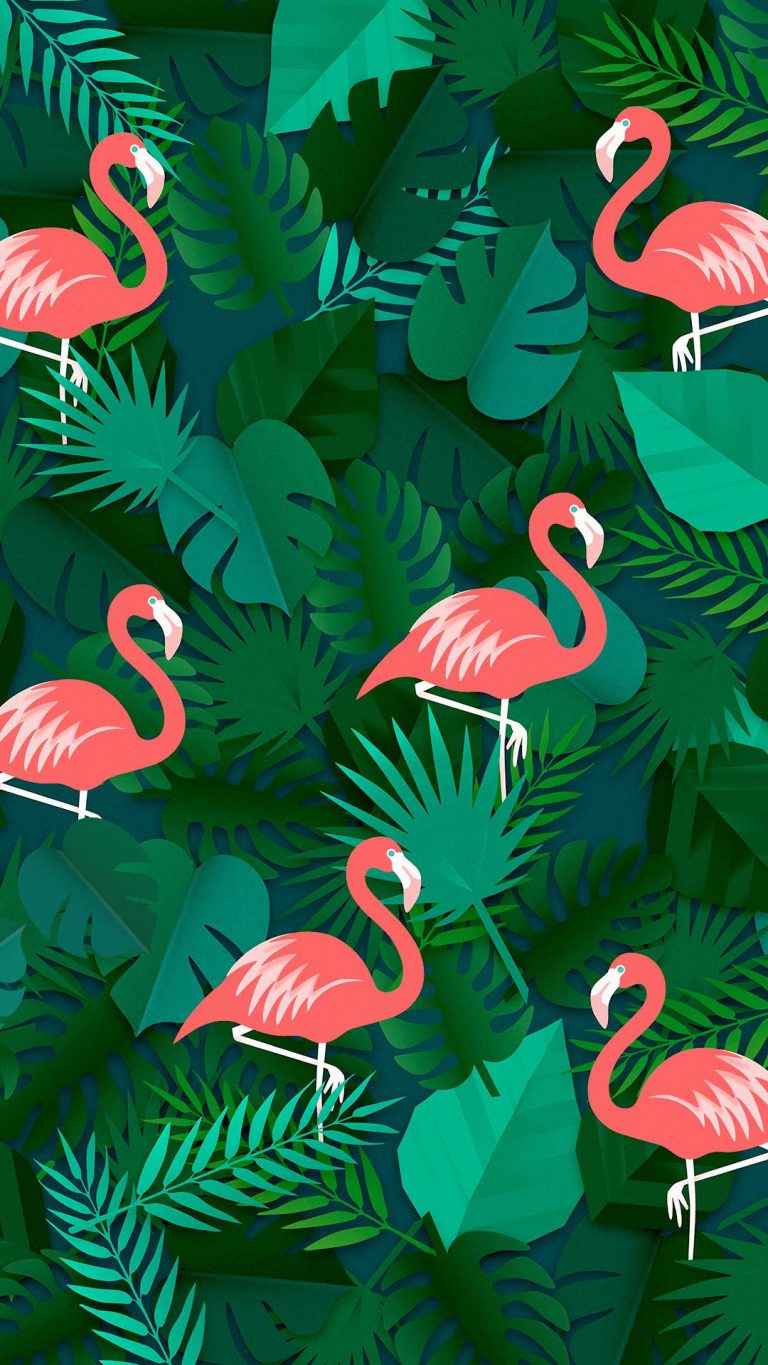 flamingo wallpaper 36