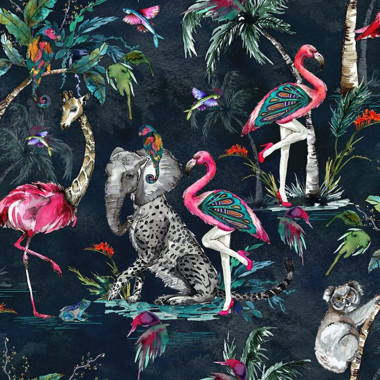 flamingo wallpaper 45