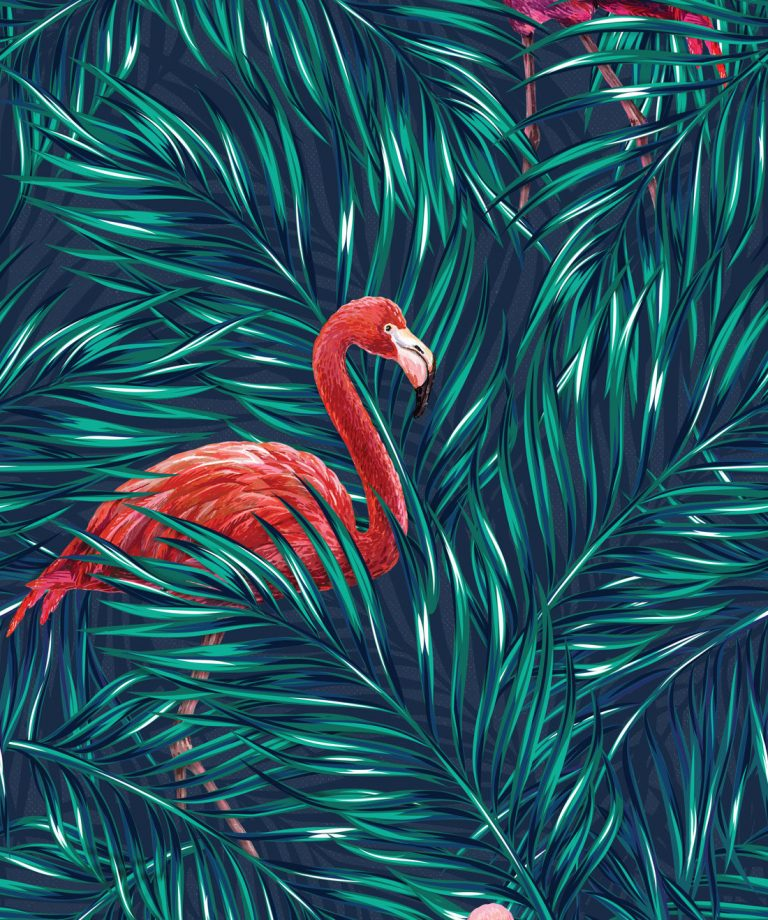 flamingo wallpaper 59