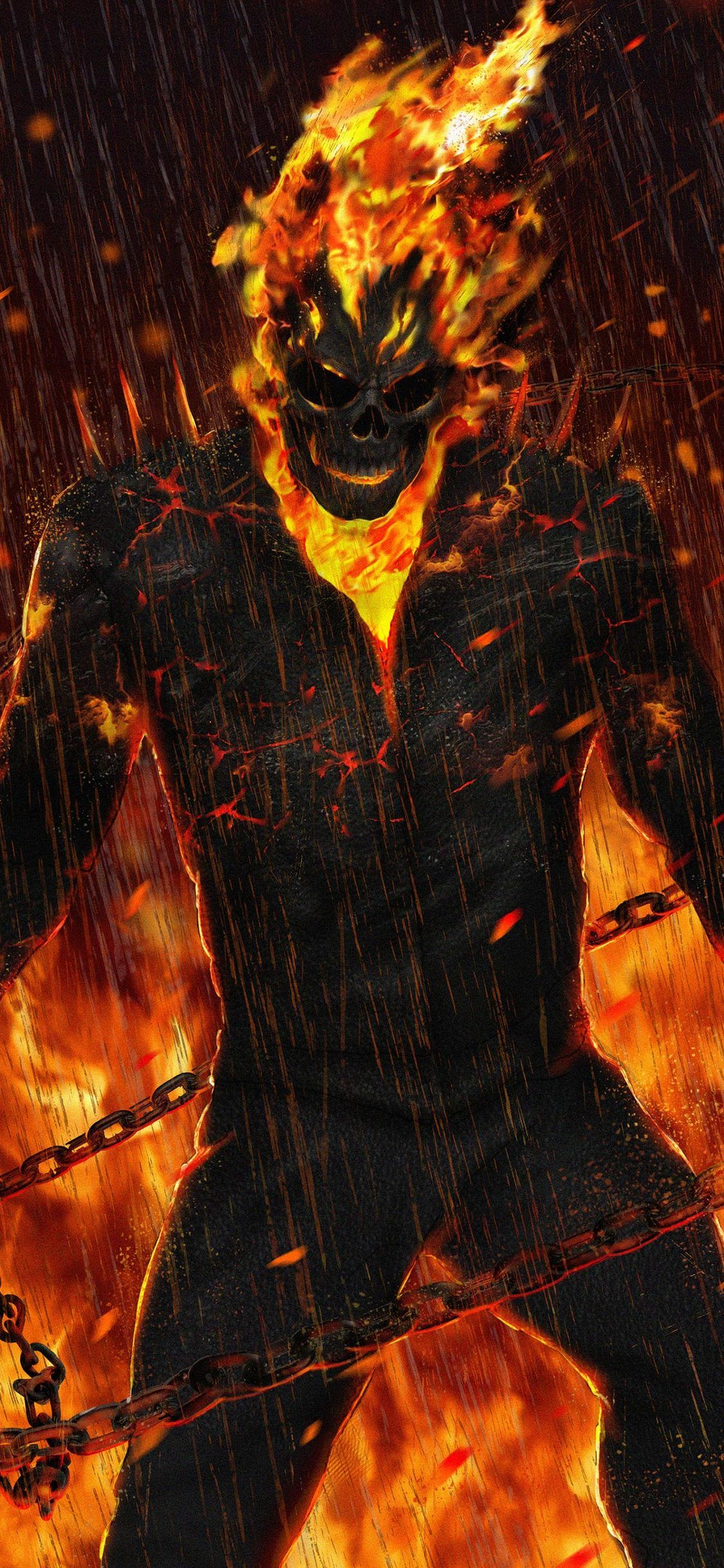 ghost rider wallpaper 177 - 1125x2436