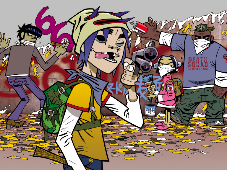 gorillaz wallpaper 182