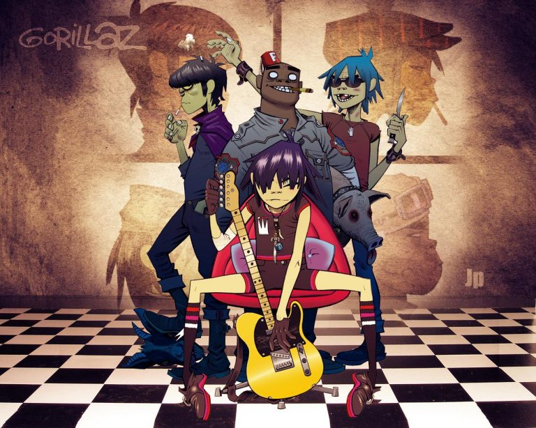 gorillaz wallpaper 190