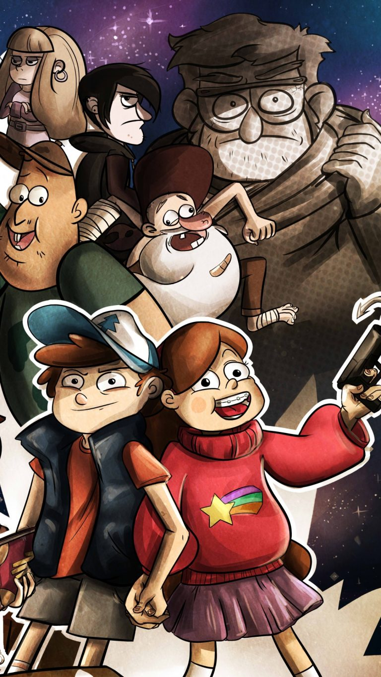 gravity falls wallpaper 107