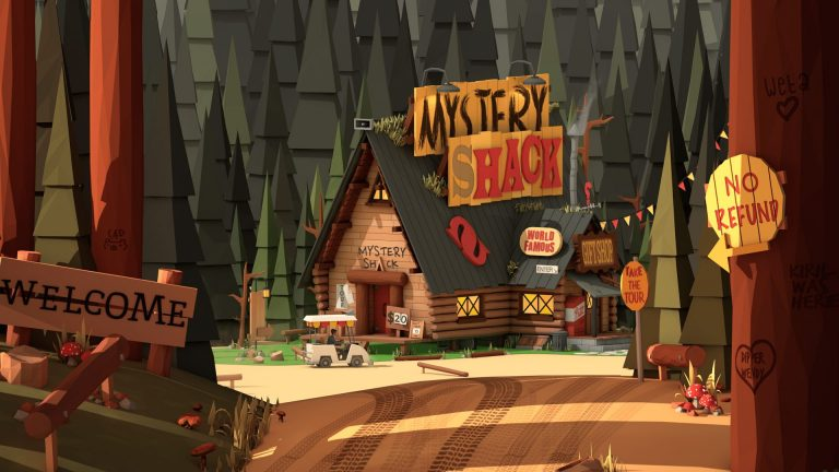 gravity falls wallpaper 112
