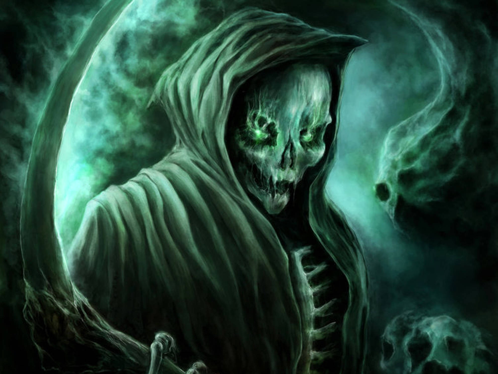 Download Scary Grim Reaper Wallpapers PNG