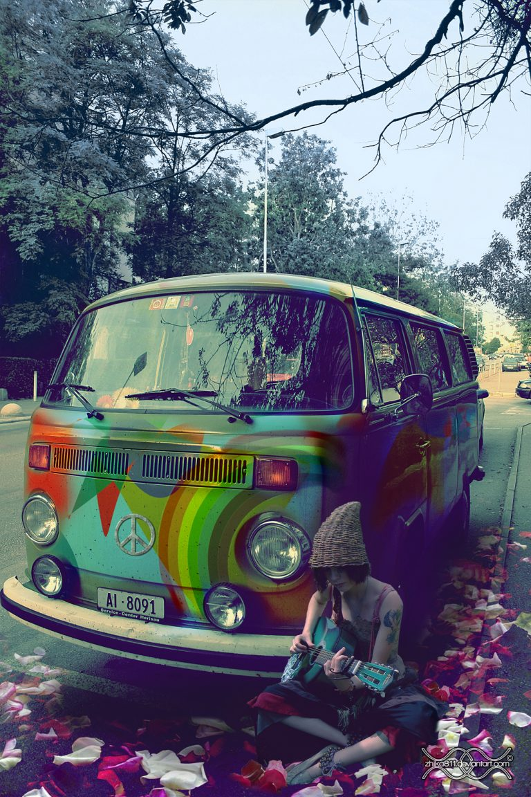 hippie wallpaper 80