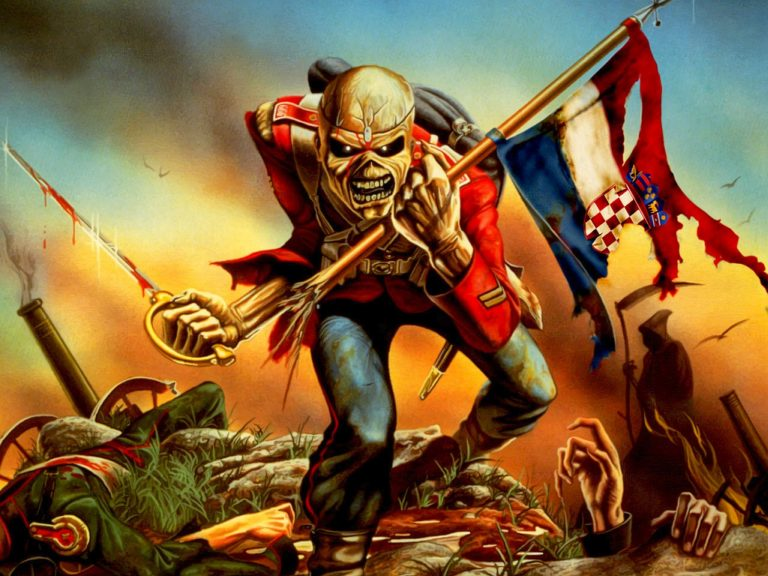 iron maiden wallpaper 80