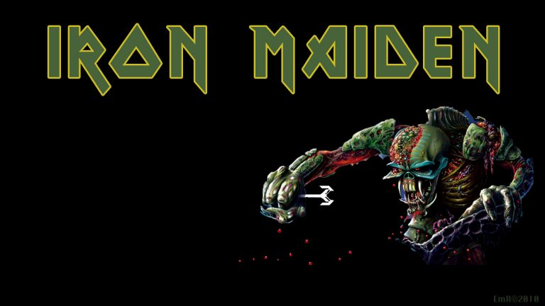 iron maiden wallpaper 90