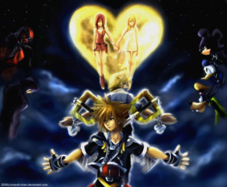 kingdom hearts wallpaper 88