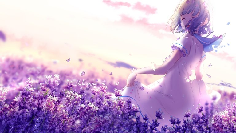 lavender wallpaper 43