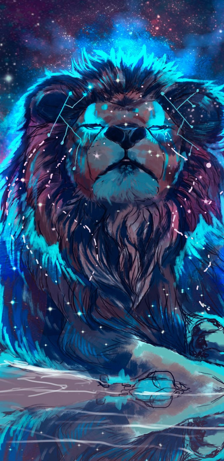 lion wallpaper 4
