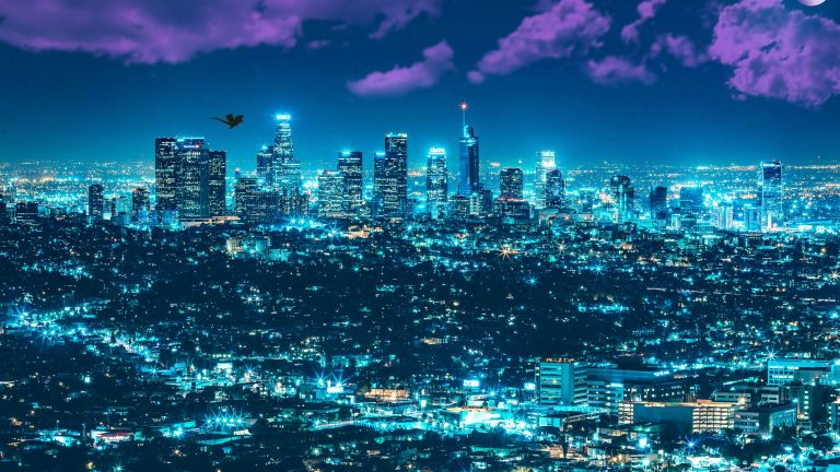 los angeles wallpaper 20