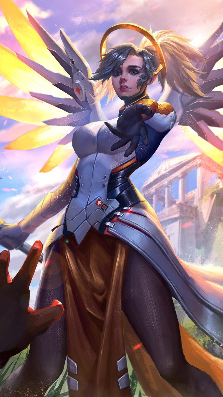 mercy wallpaper 38