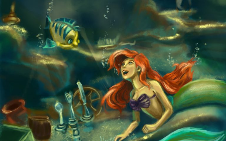 mermaid wallpaper 75