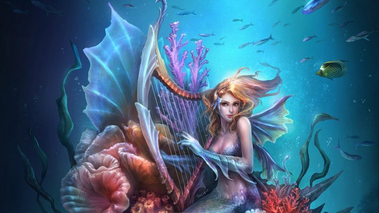 mermaid wallpaper 108