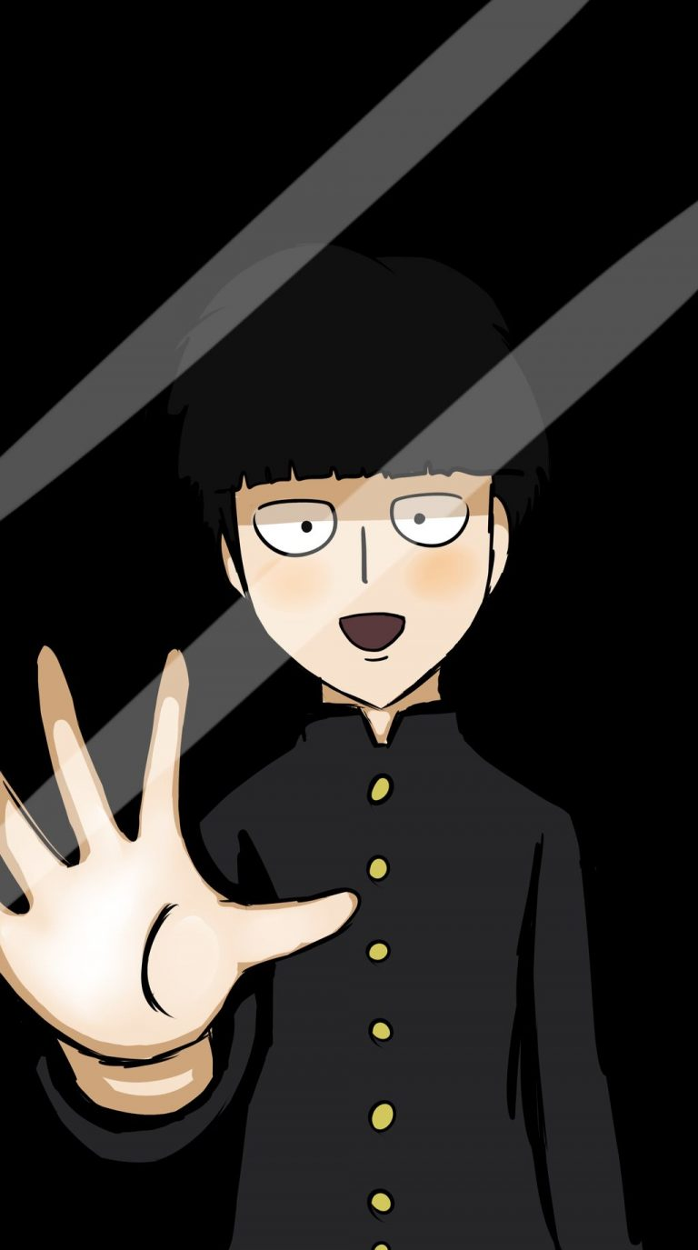 mob psycho wallpaper 128