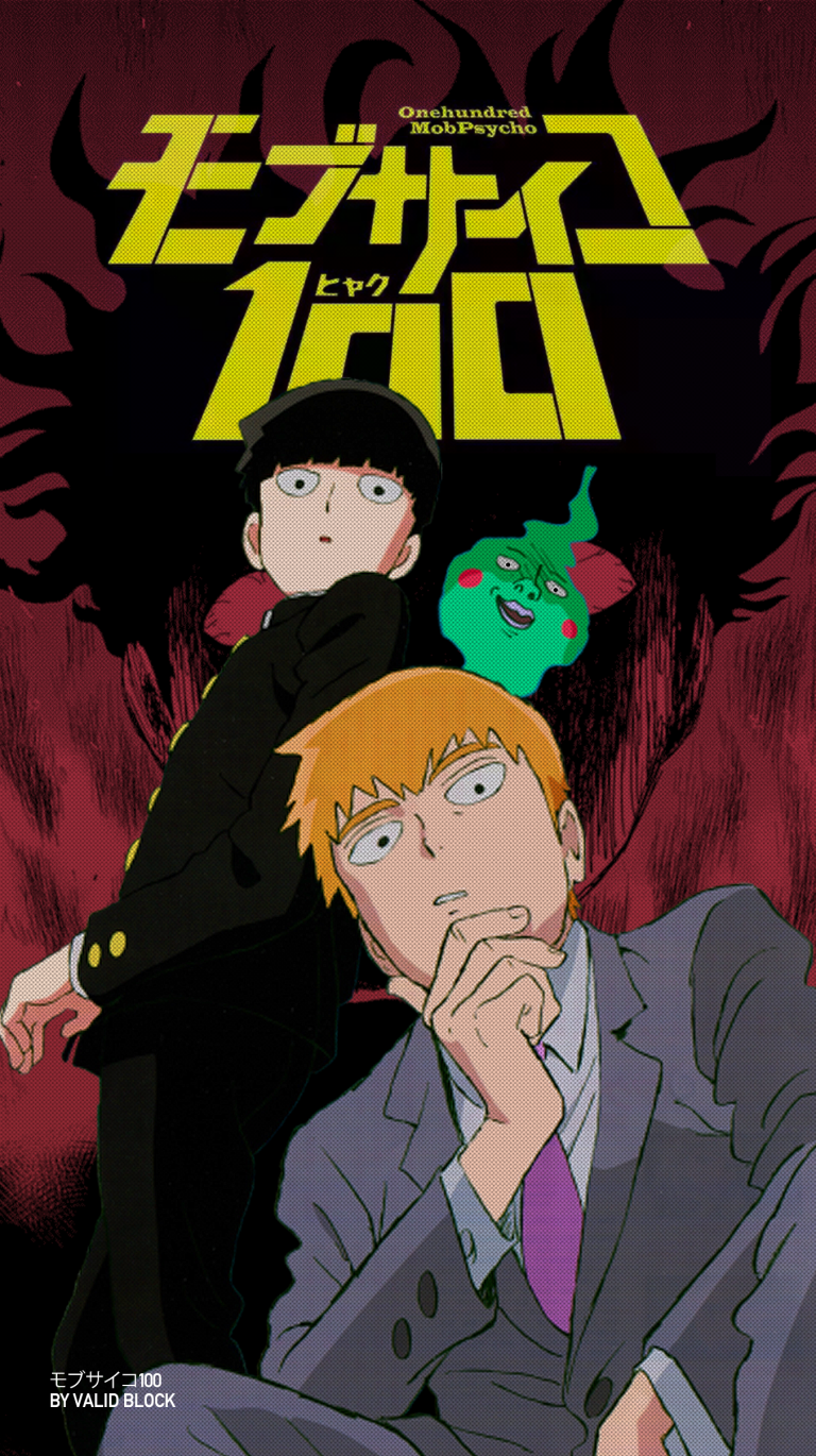 mob psycho wallpaper 154