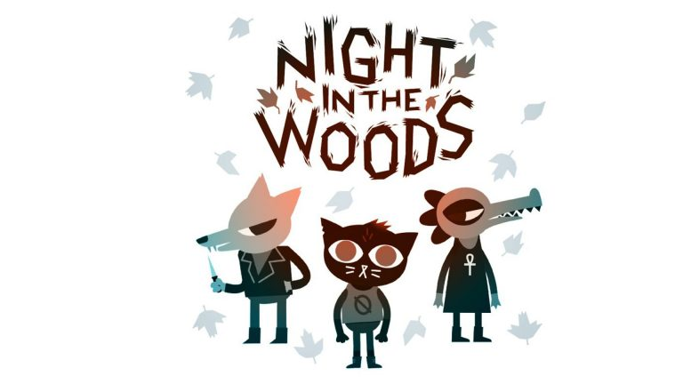night in the woods wallpaper 087