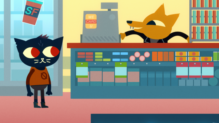 night in the woods wallpaper 092