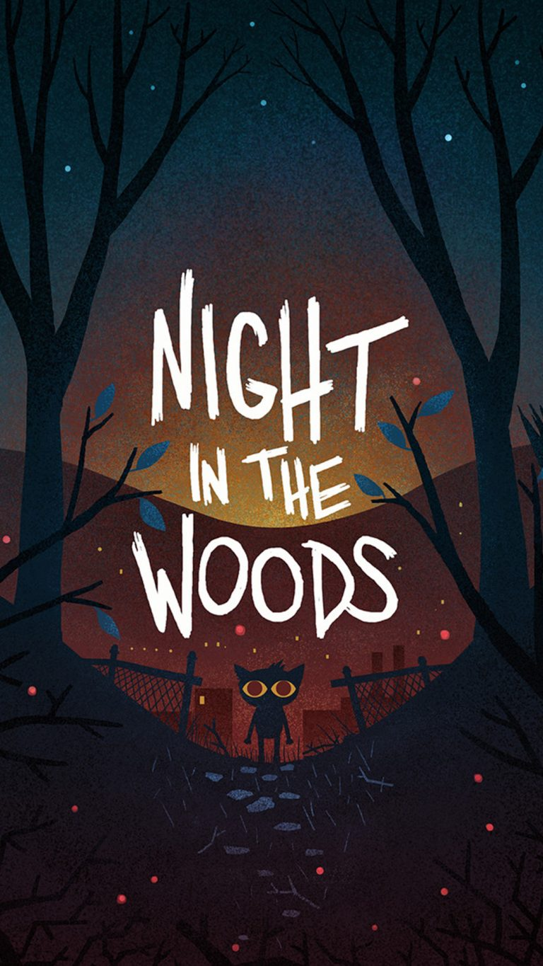 night in the woods wallpaper 093