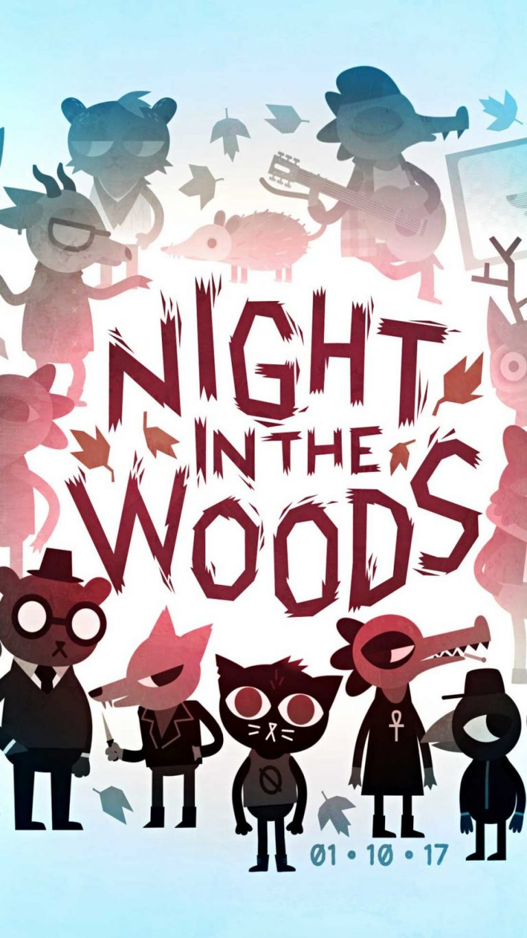 night in the woods wallpaper 106