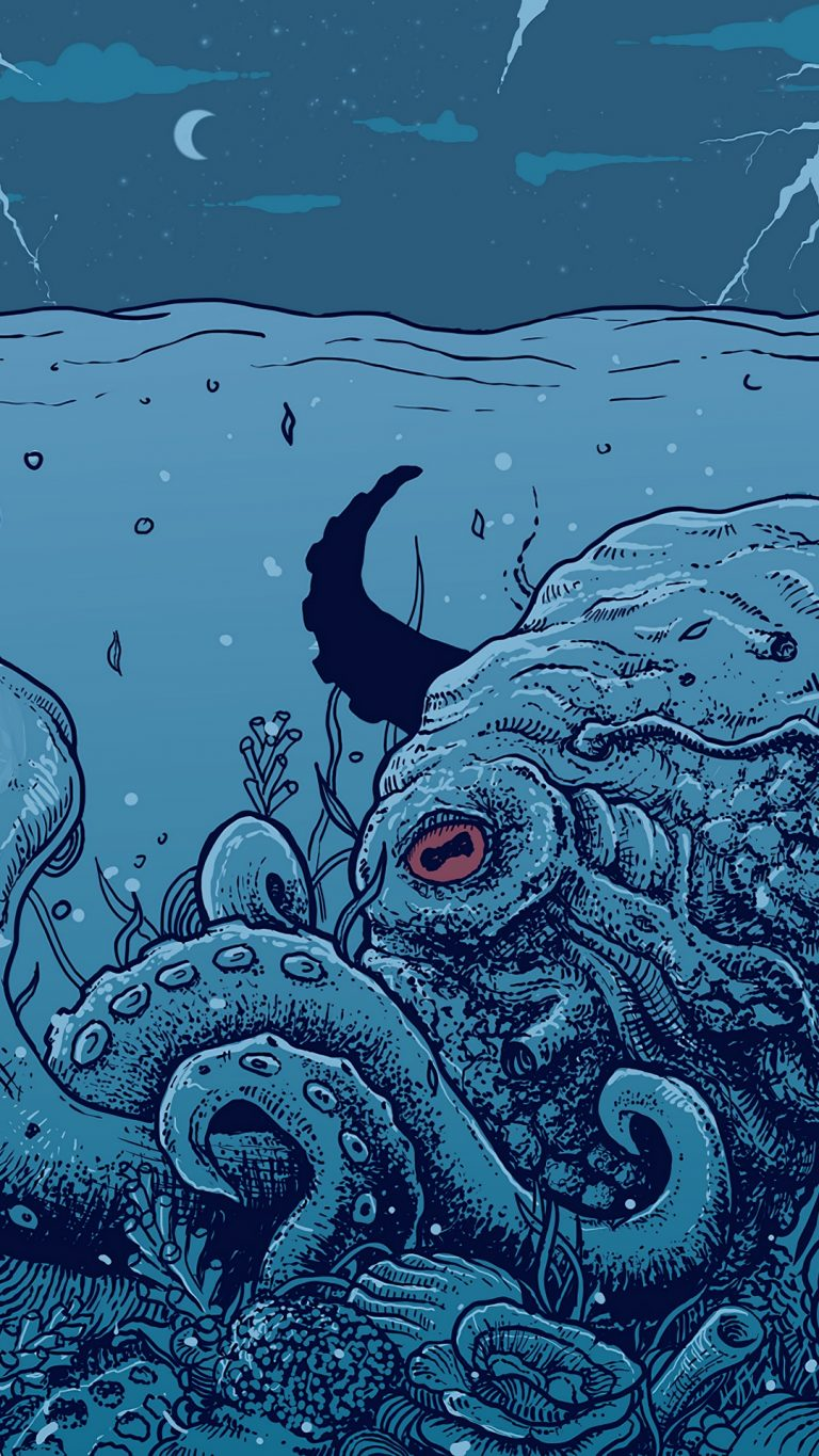 octopus wallpaper 076