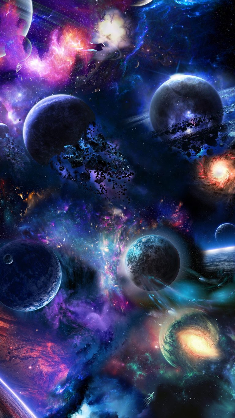 outer space wallpaper 221