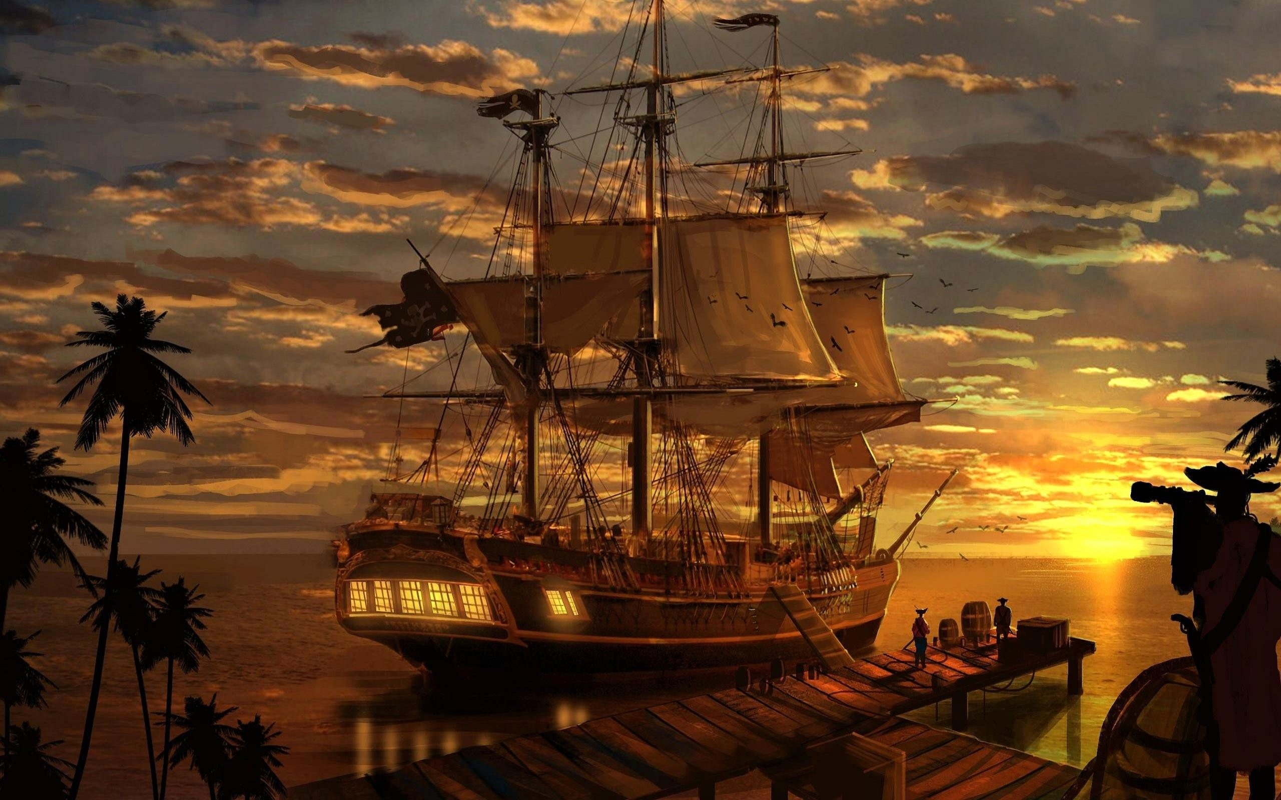 Pirate Wallpaper 166 2560x1600 Pixel Wallpaperpass