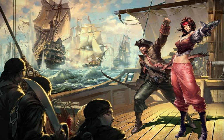 pirate wallpaper 174