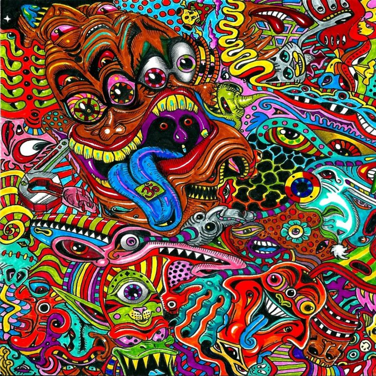 psychedelic wallpaper 010