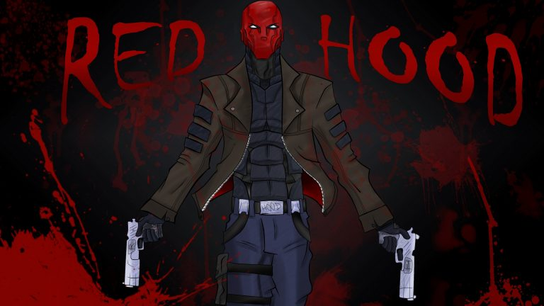 red hood wallpaper 019