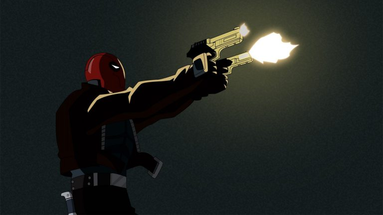 red hood wallpaper 031